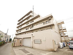神奈川県厚木市山際の賃貸マンションの外観