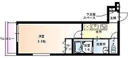 フジパレス加美東[2階]の間取り