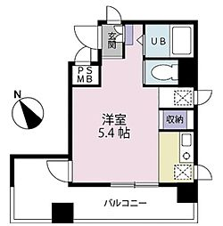 神奈川県横浜市緑区十日市場町の賃貸マンションの間取り