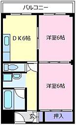 富士ビル松原I[3階]の間取り