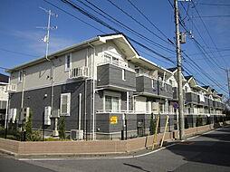 埼玉県川口市安行出羽2丁目の賃貸アパートの外観