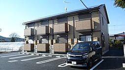 栃木県栃木市片柳町4丁目の賃貸アパートの外観