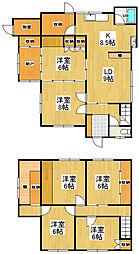 [一戸建] 北海道小樽市赤岩1丁目 の賃貸【/】の間取り