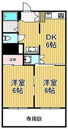 トリプルステーション菱屋西[2階]の間取り