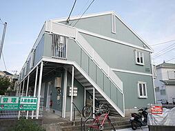 神奈川県綾瀬市深谷上6の賃貸アパートの外観