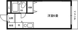 アメニティ5[3階]の間取り