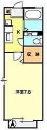 T−net アグリフォーリオ[1階]の間取り