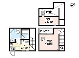 Lucia 新松戸(ルチアシンマツド)[1階]の間取り