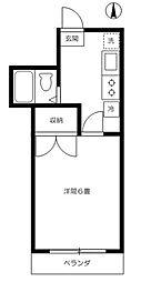 サンホワイト[2階]の間取り