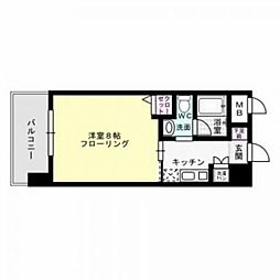 アソシアグロッツォ平尾駅前[8階]の間取り