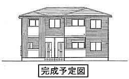 愛知県豊田市若林東町沖田の賃貸アパートの外観