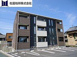 愛知県田原市福江町天神の賃貸アパートの外観