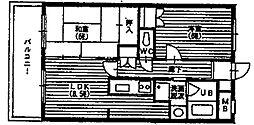 ピアチェーレ宮前平[5階]の間取り