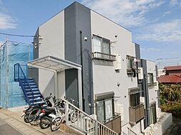 千葉県千葉市中央区宮崎2丁目の賃貸アパートの外観