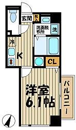 CREA T&T[3階]の間取り