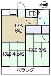 第2サクラハイツ[2階]の間取り
