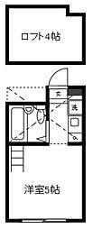 センチュリーハイツ[2階]の間取り