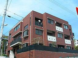 大阪府箕面市箕面2丁目の賃貸マンションの外観
