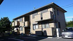 栃木県小山市東城南4丁目の賃貸アパートの外観