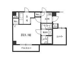 バロアール[2階]の間取り