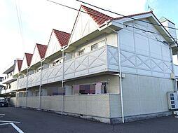 長谷川ビレッジB棟[202号室]の外観