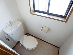 アーバンスクエア片山町のうれしい窓付きトイレ