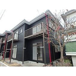 栃木県小山市大字神鳥谷の賃貸アパートの外観