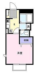 ペガサス3[2階]の間取り