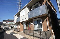 栃木県小山市東間々田2丁目の賃貸アパートの外観