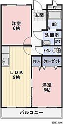 長野県諏訪市大字四賀の賃貸マンションの間取り