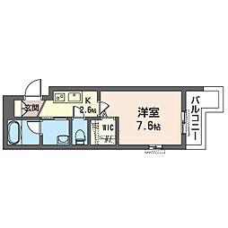 鶴見区生麦3丁目シャーメゾン (仮) 4階1Kの間取り