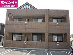 愛知県豊田市竹元町上の山下の賃貸アパートの外観