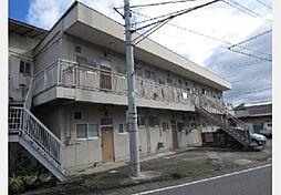 山梨県甲府市富竹1丁目の賃貸アパートの外観