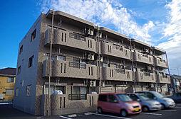 栃木県真岡市長田1丁目の賃貸マンションの外観