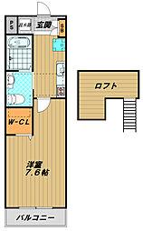 ワコーレヴィアノ須磨関守[2階]の間取り