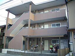 愛知県岩倉市稲荷町羽根の賃貸アパートの外観