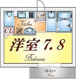 A-EAST須磨海浜公園[3階]の間取り