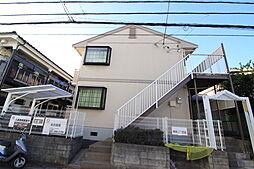 千葉県市川市相之川2丁目の賃貸アパートの外観