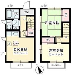 [一戸建] 神奈川県川崎市麻生区向原3丁目 の賃貸【/】の間取り
