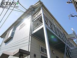東京都杉並区下高井戸2丁目の賃貸アパートの外観