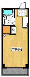 セラ上北沢[202号室]の間取り