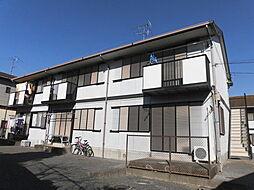 千葉県市原市山木の賃貸アパートの外観