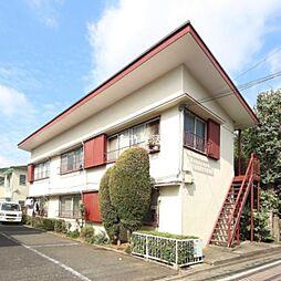 松木コーポ[1階]の外観