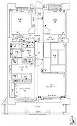 コアマンション和白丘ネクステージA棟[1002号室]の間取り