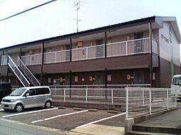岐阜県安八郡安八町大明神の賃貸アパートの外観