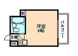 ラコンテ・スイエル[5階]の間取り