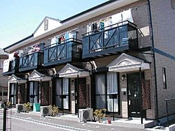滋賀県近江八幡市鷹飼町北1丁目の賃貸アパートの外観