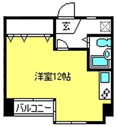 埼玉県さいたま市大宮区仲町3丁目の賃貸マンションの間取り