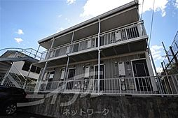大阪府箕面市粟生外院1丁目の賃貸アパートの外観
