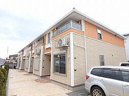 兵庫県川西市見野2丁目の賃貸アパートの外観